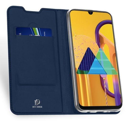 Dux Ducis Skin Pro knjižni usnjeni ovitek za Samsung Galaxy M30s, modro