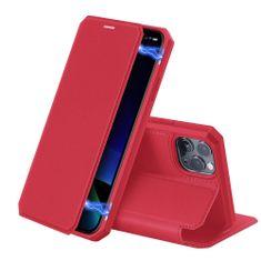 Dux Ducis Skin X knjižni usnjeni ovitek za iPhone 11 Pro, rdeča