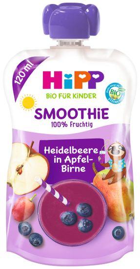 HiPP BIO Smoothie Jablko-Hruška-Čučoriedky 6x120 ml