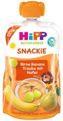 HiPP BIO Snackie Hruška-Banán-Bíle hrozno-Oves 6 x 120 g
