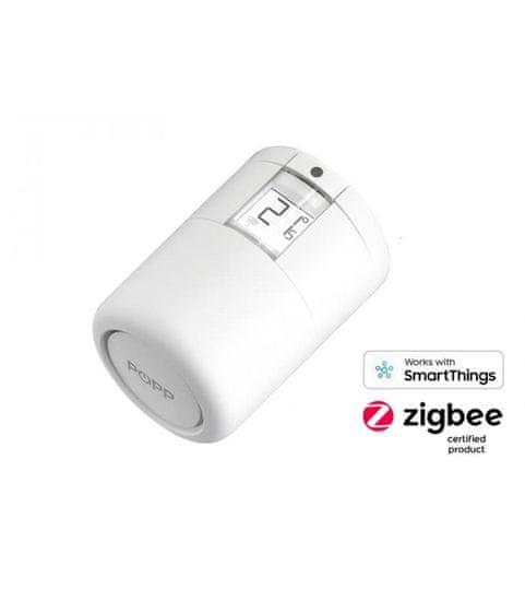 POPP Zigbee radiátorová hlavica - POPP Smart Thermostat (Zigbee) (701721)
