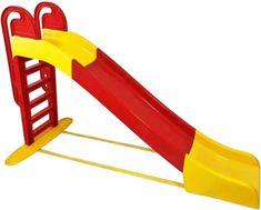 Doloni tobogan, 243 cm, rdeče-rumen