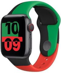 Apple řemínek pro Watch Series, sportovní, 44mm, Black Unity SB-Reg MJ4W3ZM/A