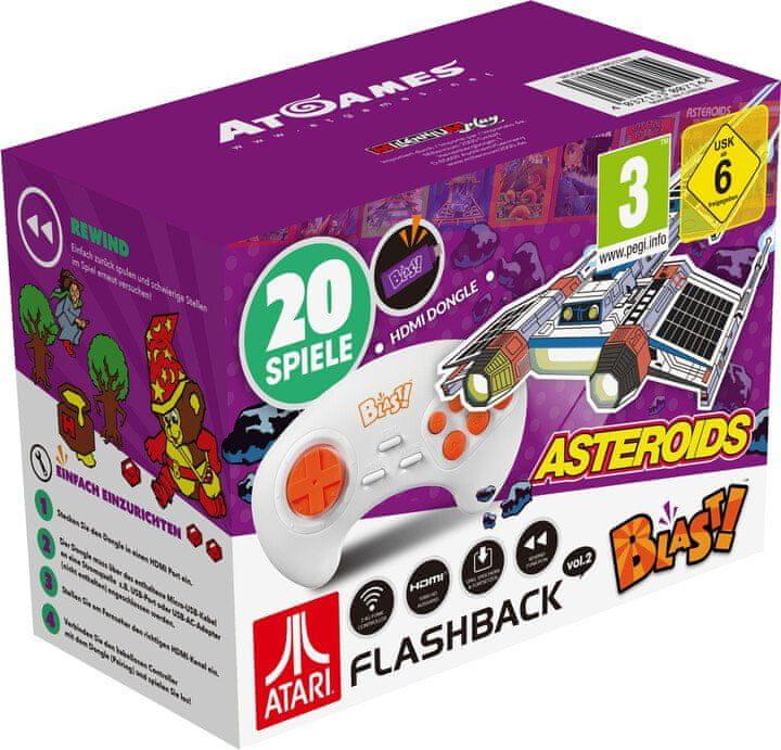 AtGames Atari Flashback Blast! Vol.2, Asteroids (M716)