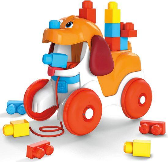 MEGA BLOKS First Builders Építőkockák kutyával