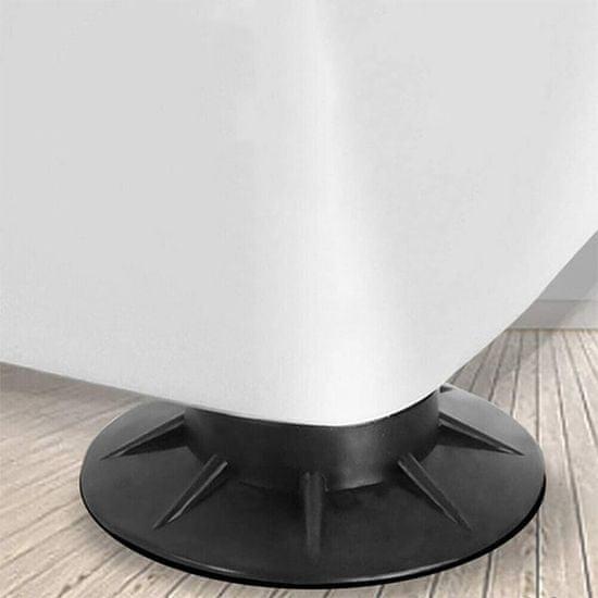 Netscroll Podstavki za pralni stroj (4-delni komplet), AntiVibrationStar