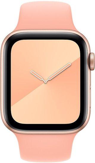 Apple pasek do Watch Series, sportowy, 44mm MXNY2ZM/A, grejpfrutowy różowy