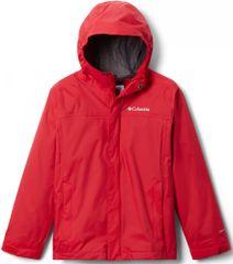 Columbia 1580641616 Watertight Jkt fantovska nepremočljiva jakna, rdeča, S