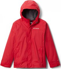 COLUMBIA kurtka nieprzemakalna chłopięca Watertight Jkt 1580641616 L czerwona