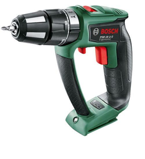 Bosch akumulatorski vrtalnik PSB 18 LI-2 Ergonomic 06039B0302