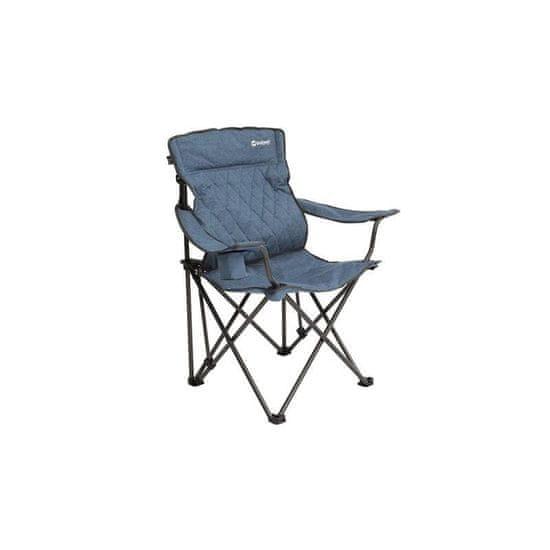 Outwell Kielder stol, zložljiv, moder