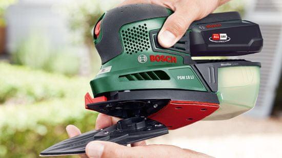 Bosch akumulatorski večnamenski brusilnik PSM 18 LI, brez baterije