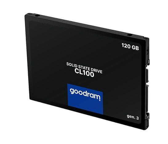 GoodRam CL100 gen. 3 SSD disk, 120 GB, SATA III, 6.35 cm, 3D TLC