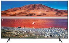 Samsung UE70TU7102KXXH LED Smart LED TV, 176cm,Ultra HD, Carbon Silver