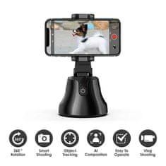 Netscroll Pametno držalo za telefon s samodejnim sledenjem za prostoročno snemanje, Robocam