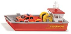 SIKU łódź z wozem strażackim Super, 1:50