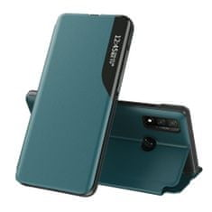 MG Eco Leather View knjižni ovitek za Samsung Galaxy A40, zelena