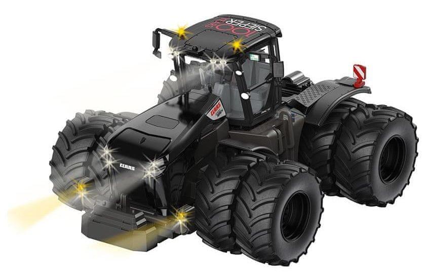 SIKU Control Limitovaná edice Bluetooth traktor Claas Werion 5000 s dvojitými koly