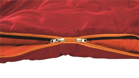 Easy Camp spalna vreča Camp Cosmos, rdeča