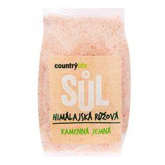Country Life Sůl himálajská růžová jemná 500g