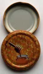 Marex Trade Twist pokrovi, 66 mm, za kozarce 0,37 l, 10 kosov