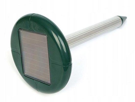 Solarni odganjalec glodalcev (voluharjev, krtov, miši), kovinski