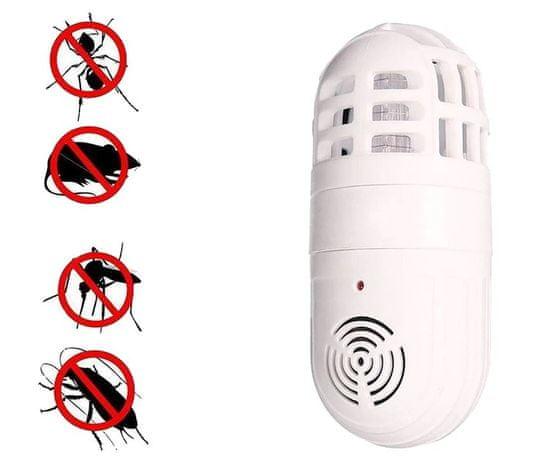 Ultrasonični odganjalec mrčesa in glodalcev