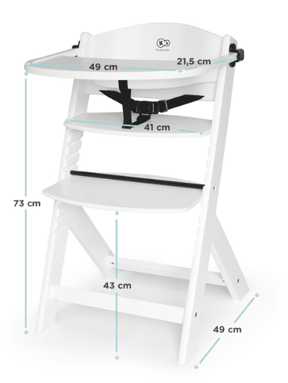 KinderKraft krzesełko do karmienia ENOCK