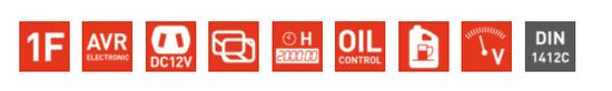 Heron elektrocentrála benzínová 7,4HP/3,5kW