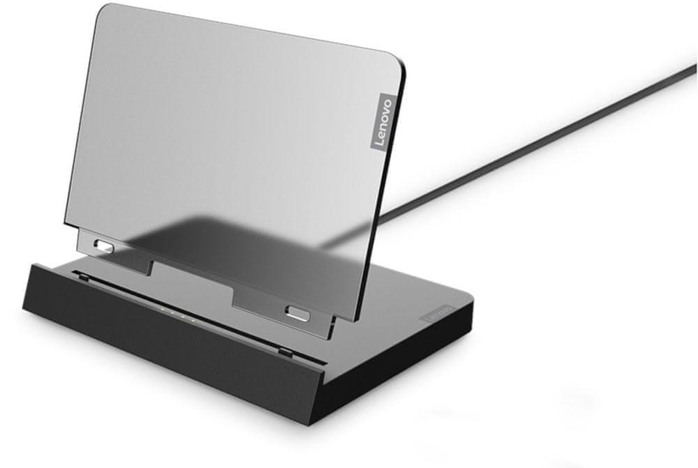 Lenovo Tab P11, 6GB/128GB, LTE, Slate Grey (ZA7S0131CZ) + nabíjecí stanice
