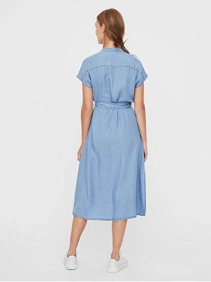 Vero Moda Női ruha VMSAGA 10231285 Light Blue Denim