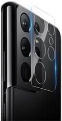 Nillkin zaščitni film za kamero InvisiFilm AR 0,22 mm za Samsung Galaxy S21 Ultra 57983102339, prozoren