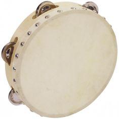 "Dimavery DTH-806, tamburína 8"" s blanou"