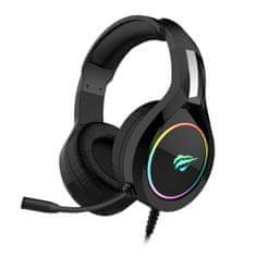 Havit Gamenote slušalke z mikrofonom, RGB (HV-H2232d)
