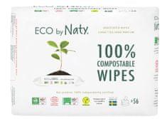 ECO by Naty ECO vlažne maramice bez mirisa - za osjetljivu kožu, 3x56 komada
