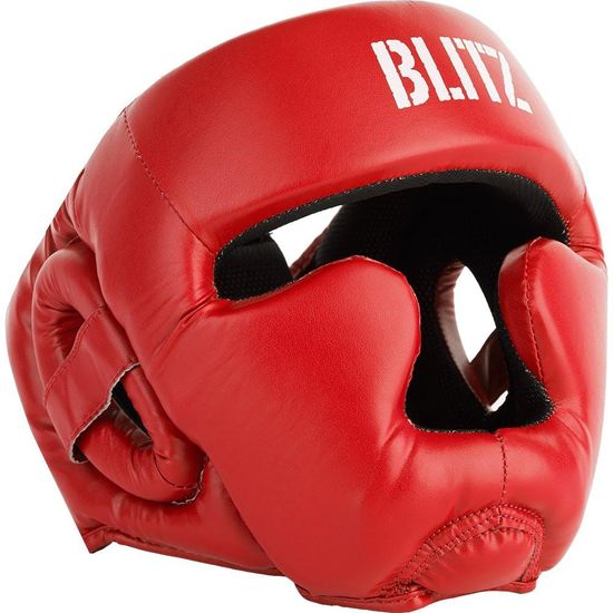 Blitz Prilba BLITZ Club Full Contact - červená