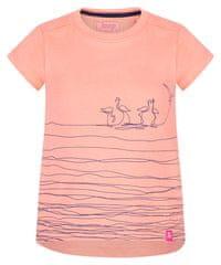 Loap dekliška majica Batya, 112/116, lososova