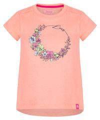 Loap dekliška majica Banee, 112/116, lososova