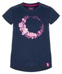 Loap dekliška majica Banee, 112/116, temno modri
