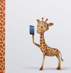 WALTHER Fotoalbum na fotorožky 27x29 cm 100 strán detské Giraffe 2