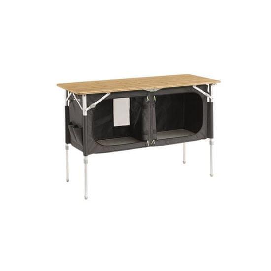Outwell Padres Double kamp kuhinjska miza, 120 x 50 x 80 cm