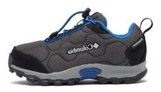 Columbia dětská outdoorová obuv Firecamp Sledder 3 WP 1862901089 32 tmavě šedá