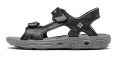 Columbia fantovski sandali Techsun Vent X 1594631010, 33, črni