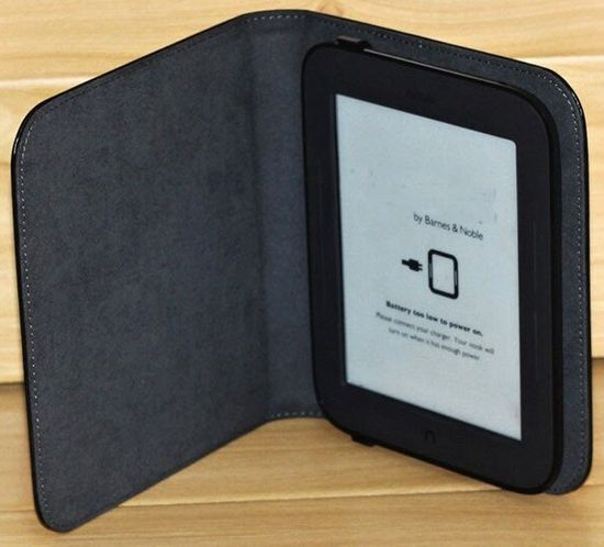 Barnes & Noble NST121 Pouzdro pro Nook Simple Touch - tyrkysové