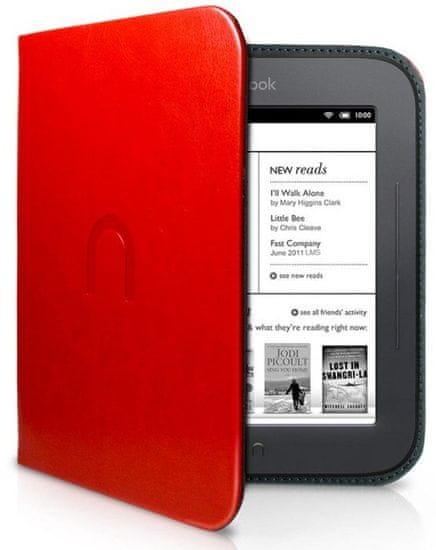 Barnes & Noble NST123 Pouzdro pro Nook Simple Touch - červené
