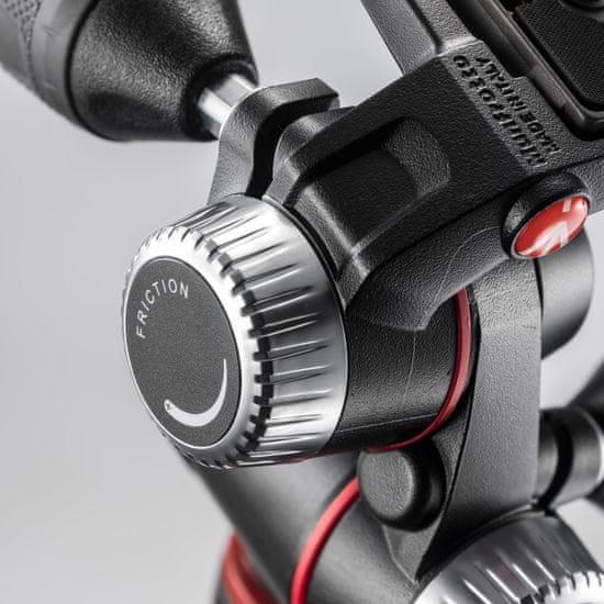 Manfrotto Aluminijasto 3-sekcijsko stojalo 055 z XPRO 3 Way glavo + 200PL ploščico (MK055XPRO3-3W) + GRATIS nosilec za telefon (MCLAMP)