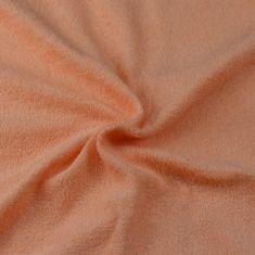 Brotex  Froté prestieradlo losos, 80x200 cm
