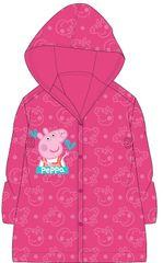 """Eplusm Dziewczęcy płaszcz przeciwdeszczowy """"Świnka Peppa"""" - różowy - 116–122 / 6–7 lat"""