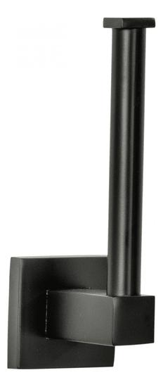 Fackelmann Držák na toaletní papír (zásoba) 5x16x7 cm NEW YORK matná černá