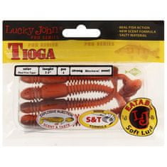 LUCKY JOHN Vibration tail pro s tioga jedlé 10cm 140104-t48